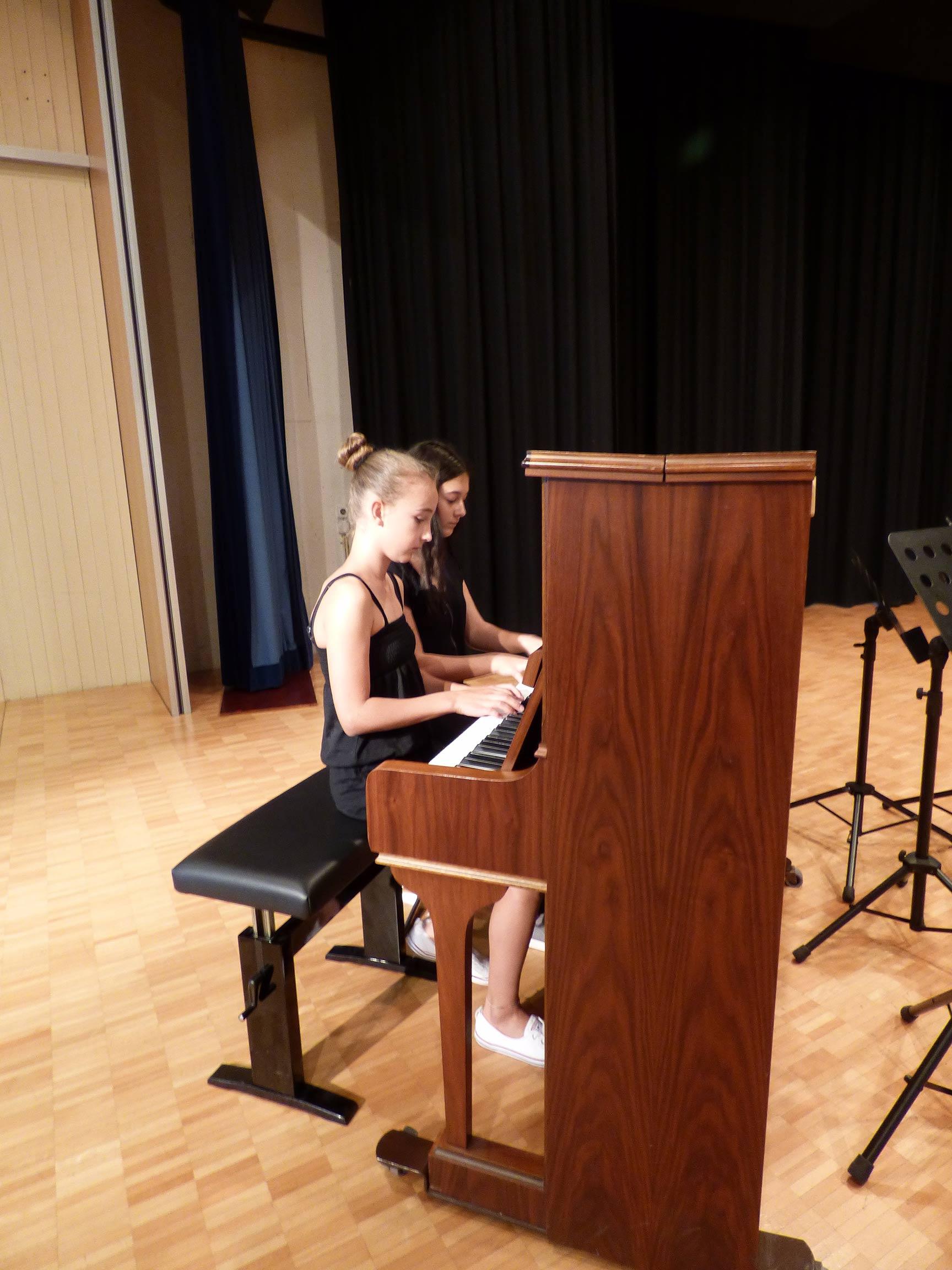 Sommerkonzert 2016 - Musikschule Gersau